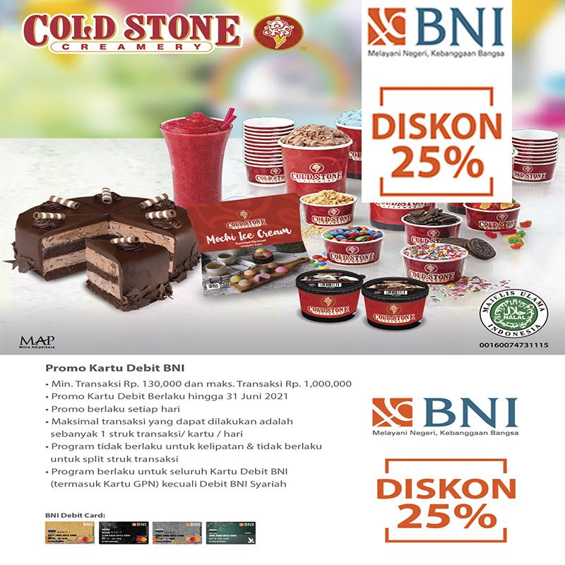 Special Offers BNI Promo ColdStone