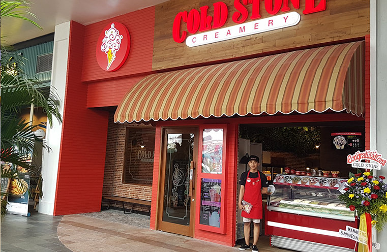 Cold Stone Creamery Our Presence In Indonesia