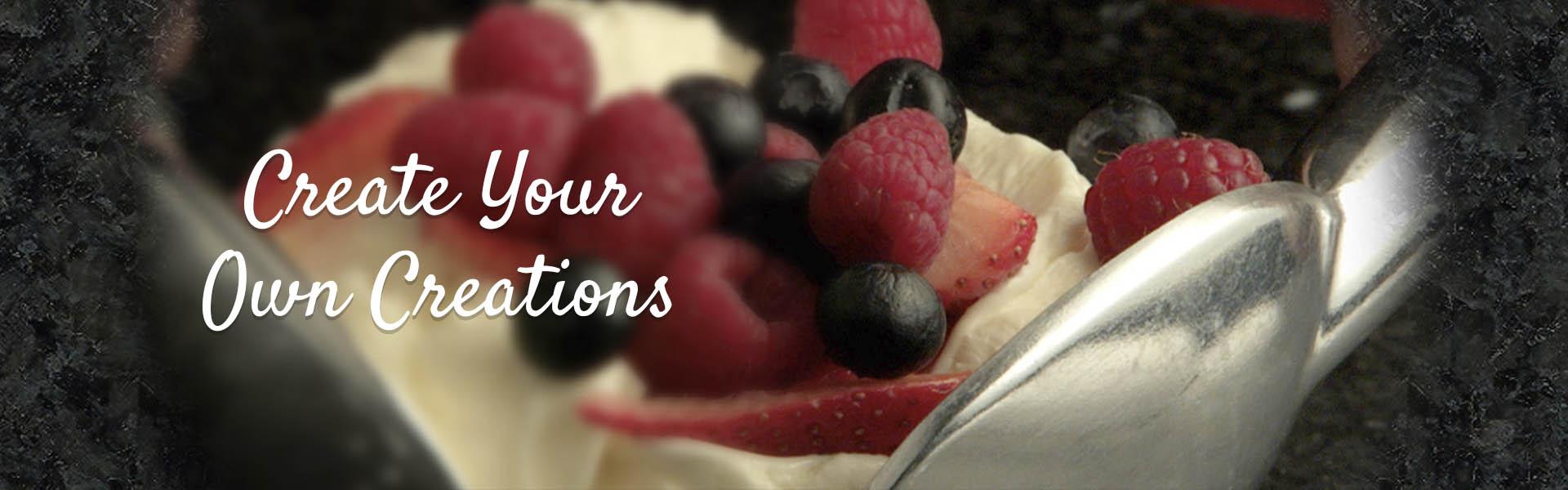 Ice Cream - Create Your Own
